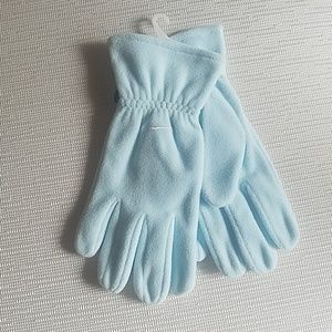 New Nike Blue Lagoon fleece unisex gloves